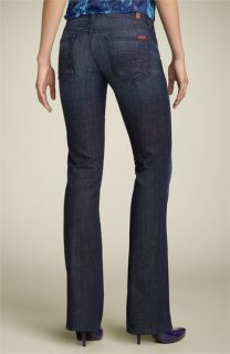 7 For All Mankind® Edie Crystal Bootcut Stretch Jeans (Los Angeles Dark)