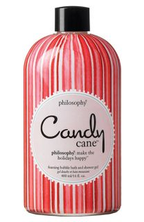 philosophy candy cane foaming bubble bath & shower gel