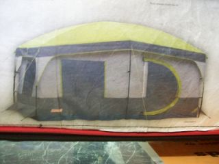 You are bidding on a Coleman MAX Cabin 8 Person Tent. & coleman max instant set up 8 person tent 13 x 9