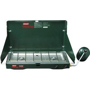 Coleman New Two Burner Propane Camping Stove
