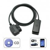 WiFi OBD II Car Diagnostics Tool for iPad iPhone iPod Touch PC Laptops