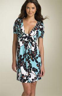 Max & Cleo Print Matte Jersey Dress