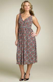 MICHAEL Michael Kors Print Knit Dress (Plus)
