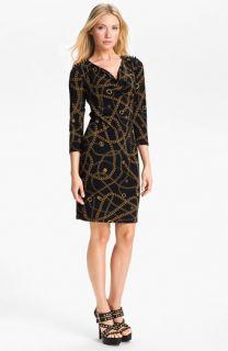 MICHAEL Michael Kors Hamilton Chain Print Dress (Petite)