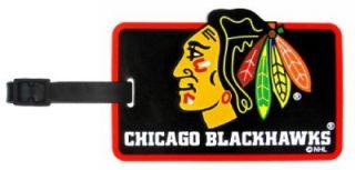 Chicago Blackhawks Luggage Tag Duffle for Travel Bag