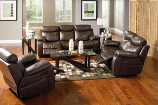 New 3 Pcs Sectional Sofa Loveseat Recliner Couches F Living Room