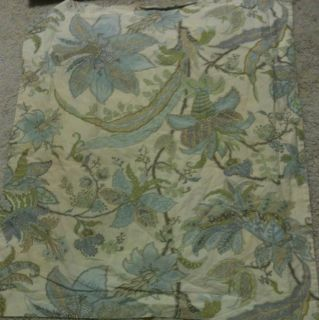 pottery barn bradford brown toile queen bed skirt new time