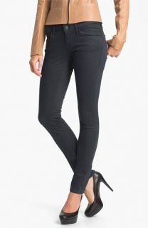 Mavi Jeans Serena Low Rise Skinny  Jeans (Sueded Granite) (Online Exclusive)