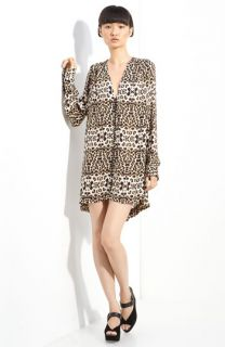 A.L.C. Daisy Leopard Print Dress