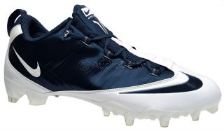 Zoom Vapor Carbon Fiber Fly TD Mens Football Cleats, Navy Blue & White
