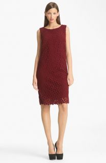Max Mara Formica Macramé Sheath Dress
