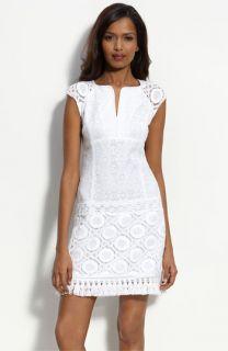Nanette Lepore Cap Sleeve Lace Dress