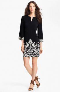 Donna Morgan Print Jersey Shift Dress