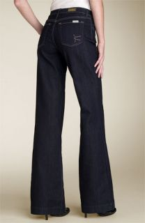 David Kahn Jeans Wide Leg Stretch Jeans (Sorrento Wash)