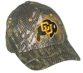Colorado Buffaloes Full Draw Camo Flex Fit Hat Cap L XL