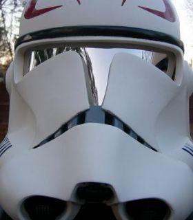 Colored Mirrored Plastic Sheet Star Wars Helmet Costume