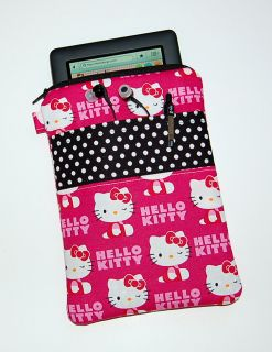 Hello Kitty Pink Wink Nook Color Kindle Case Cover Free USA Shipping