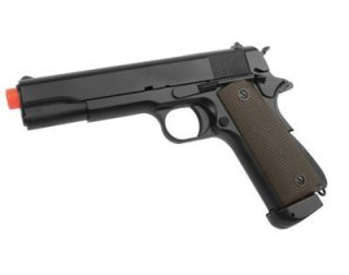New Colt M1911 A1 CO2 Semi Auto Airsoft Pistol Recoil