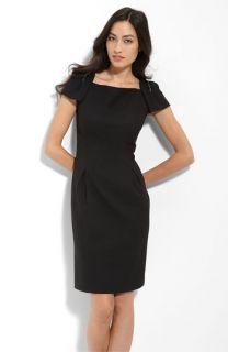 Donna Ricco Beaded Jersey Sheath Dress