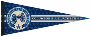 COLUMBUS BLUE JACKETS CANNON NHL Hockey Limited Edition Premium Felt