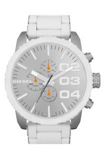 DIESEL® Large Round Dial Chronograph Watch