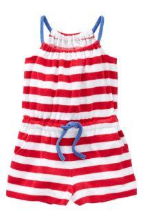 Mini Boden Terry Cloth Romper (Little Girls & Big Girls)