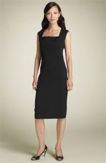 Anne Klein New York Wool Sheath Dress
