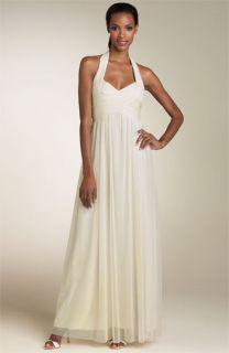 Calvin Klein Stretch Mesh Gown