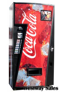470 Single Price Soda Can Vending Machine Coke Pepsi Dr Pepper
