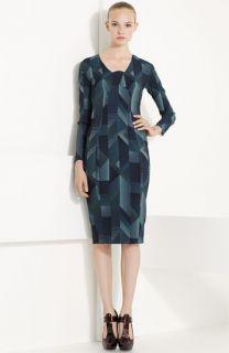 MARC JACOBS Geometric Print Knit Dress