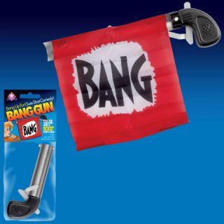 Bang Gun Flag Comedy Clown Magic Trick Toy Gag Joke Fun