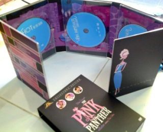 THE PINK PANTHER COLLECTION Peter Sellers, Comedy Classics 5 DVD Digi