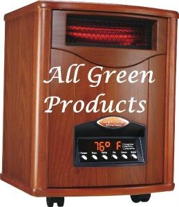 Infrared Comfort Furnace Heater CF1500WT UV Cut Heating Bill 50%