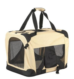 "Costdot 20"" Foldable Comfort Pet Dog Carrier Camping Crate 3001s x 1"