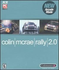 Colin McRae Rally 2 0 PC CD Race Cross Country Road Track Car Drive