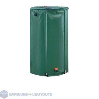 Portable Water Saving Collapsible Rain Barrel   74 Gallon   23.5x39.5