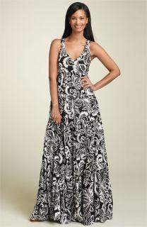Jones New York Sport Tiered Floral Dress