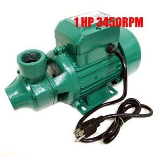 Industrial 1HP Centrifugal Clear Water Pump 1 Electric Pond Pool