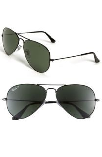 Ray Ban Aviator 55mm Polarized Sunglasses