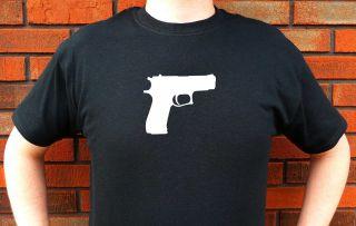 Colt 45 Pistol Caliber Handgun Graphic T Shirt Tee