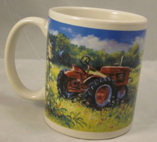 Farm Cows Tractor Summer Chestnut Creek Coffee Mug Cup