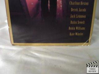 Hamlet VHS 2 Tape Set Kenneth Branagh Julie Christie 043396949935