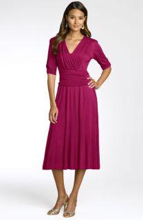 Lily Ruched Waist Jersey Dress