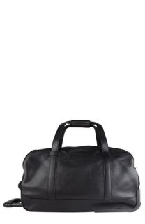 Bosca Tribeca Collection Wheeled Duffel Bag