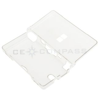 Clear Crystal Snap on Hard Shell Case Cover for Nintendo DSi NDSi New