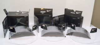 Lot x3 Nike Clear Vision Football Helmet Eye Shield Visors