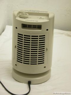 Comfort Zone Forced Air Electric Heater Portable 1500W