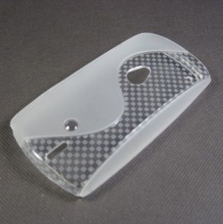 Clear New Soft Gel TPU Case Cover for Sony Ericsson Xperia Neo MT15i