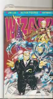 Wizard Comic Book Price Guide Magazine 12 August 1992 Wildcats Jim Lee