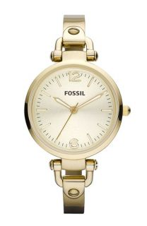 Fossil Georgia Round Dial Bangle Watch